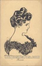 xrt023018 - Artist Signed Charles Dana Gibson, Postcard Postcards
