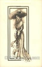 xrt023026 - Artist Signed Charles Dana Gibson, Postcard Postcards