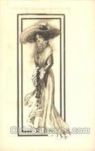 xrt023027 - Artist Signed Charles Dana Gibson, Postcard Postcards