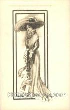 xrt023028 - Artist Signed Charles Dana Gibson, Postcard Postcards