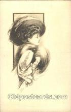 xrt023031 - Artist Signed Charles Dana Gibson, Postcard Postcards