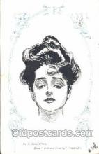 xrt023043 - Artist Signed Charles Dana Gibson, Postcard Postcards