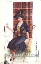 xrt025016 - Artist Signed Archie Gunn, Postcard Postcards