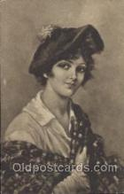 xrt029001 - Eva Hollyer, Artist Signed Postcard Postcards