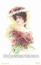 xrt030003 - Maud Humphrey (United States) Artist Signed Postcard Postcards