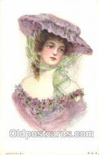 xrt030005 - Maud Humphrey (United States) Artist Signed Postcard Postcards