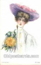 xrt030006 - Maud Humphrey (United States) Artist Signed Postcard Postcards