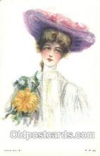xrt030007 - Maud Humphrey (United States) Artist Signed Postcard Postcards