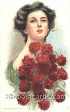 xrt030010 - Maud Humphrey (United States) Artist Signed Postcard Postcards
