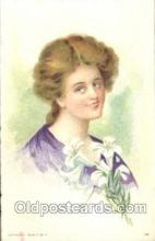 xrt030013 - Maud Humphrey (United States) Artist Signed Postcard Postcards