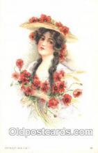xrt030016 - Maud Humphrey (United States) Artist Signed Postcard Postcards