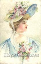 xrt030030 - Maud Humphrey (United States) Artist Signed Postcard Postcards