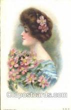 xrt030031 - Maud Humphrey (United States) Artist Signed Postcard Postcards