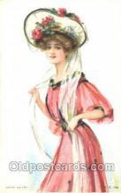 xrt030034 - Maud Humphrey (United States) Artist Signed Postcard Postcards