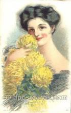 xrt030037 - Maud Humphrey (United States) Artist Signed Postcard Postcards