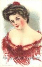 xrt030038 - Maud Humphrey (United States) Artist Signed Postcard Postcards