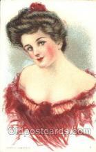 xrt030040 - Maud Humphrey (United States) Artist Signed Postcard Postcards