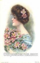 xrt030041 - Maud Humphrey (United States) Artist Signed Postcard Postcards
