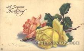 xrt035004 - Artist Signed Catherine Klein Postcard Postcards