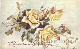 xrt035053 - Artist Signed Catherine Klein Postcard Postcards