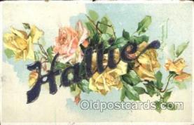 xrt035182 - Artist Signed Catherine Klein Postcard Postcards
