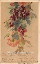 xrt035223 - Artist Signed Catherine Klein Old Vintage Post Cards