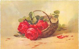 xrt035344 - Artist Catherine Klein Postcard Old Vintage Antique Post Card