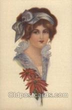 xrt041002 - Artist Signed Frederick Manning Postcard Postcards