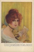 xrt041010 - Artist Signed Frederick Manning Postcard Postcards