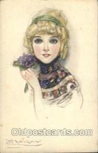 xrt043a007 - Artist Signed Mauzan Postcard Postcards