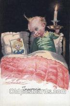 xrt043a032 - Artist Signed Mauzan Postcard Postcards