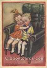 xrt043a042 - Artist Signed Mauzan Postcard Postcards