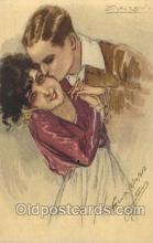 xrt043a081 - Artist Signed Mauzan Postcard Postcards