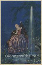 xrt043b001 - Artist Signed G. Meschini Postcard Postcards