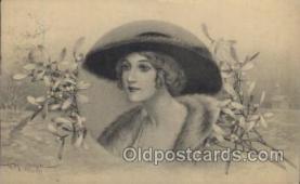 xrt043b003 - Artist Signed G. Meschini, Postcard Postcards