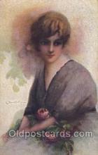 xrt046001 - Artist Signed C. Monestier, (Italy) Postcard Postcards
