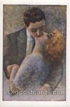 xrt046013 - Artist Signed C. Monestier, (Italy) Postcard Postcards