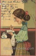 xrt059155 - Artist Signed PFB, Postcard Postcards