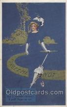 xrt060002 - Artist Signed Coles Phillips Look Alike  Postcard Postcards