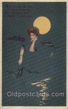 xrt060007 - Artist Signed Coles Phillips Look Alike  Postcard Postcards