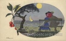 xrt068010 - Artist Signed Xavier Sager, Postcard Postcards