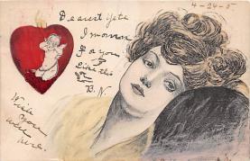 xrt068012 - Artist Signed Xavier Sager, Postcard Postcards