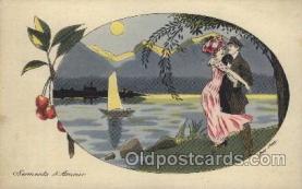 xrt068017 - Artist Signed Xavier Sager, Postcard Postcards