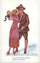 xrt068034 - Artist Signed Xavier Sager, Postcard Postcards