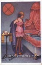 xrt068077 - Artist Signed Xavier Sager, Postcard Postcards