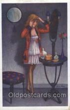 xrt068102 - Artist Signed Xavier Sager, Postcard Postcards