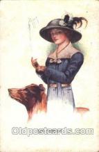 Artist Court Barber, Postcard Post Card