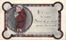 xrt071005 - Artist Signed Cobb Shinn, Postcard Postcards