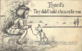 xrt071019 - Artist Signed Cobb Shinn, Postcard Postcards