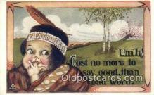 xrt071213 - Artist Shinn, Cobb Postcard Post Card, Old Vintage Antique